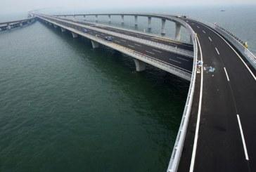 Estrutura levou quatro anos para ser construída e custou US$ 2,3 bilhões