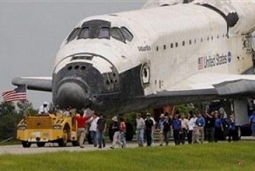 Atlantis acaba sua missão e vai para museu