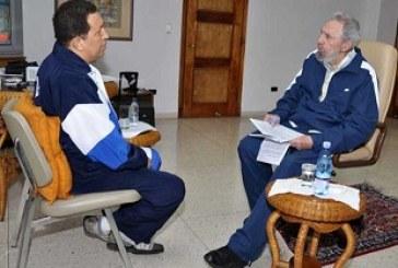 Fidel Castro diz que Chávez travou batalha decisiva contra o câncer