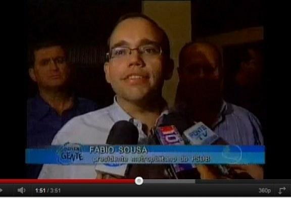 Aniversário de Fábio Sousa no Tatersal do Parque Agropecuário de Goiânia – Programa Nossa Gente