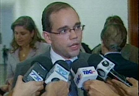Fábio Sousa apresentou o projeto de criação do código de defesa do contribuinte de Goiás