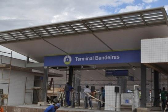 Prefeitura prossegue com obras em terminais de ônibus de Goiânia