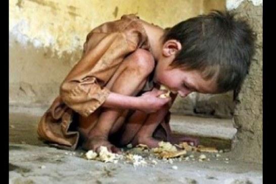 Pelo menos cinco crianças morrem de fome a cada minuto, diz ONG