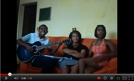 Vídeos Engraçados do You Tube: Cantando em Família (Para nossa alegria)