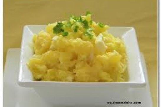 Receita para a semana: Salada de batata com presunto