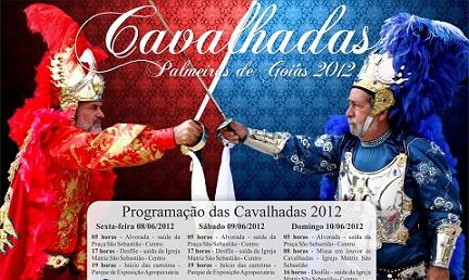 Palmeiras de Goiás vive as Cavalhadas