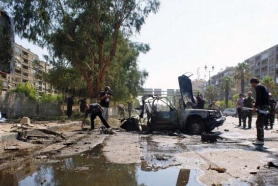 Explosão de carro-bomba deixa várias vítimas no centro da Síria