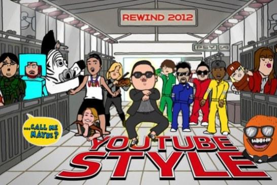 Retrospectiva 2012 – YouTube divulga os dez vídeos mais vistos no mundo e no Brasil