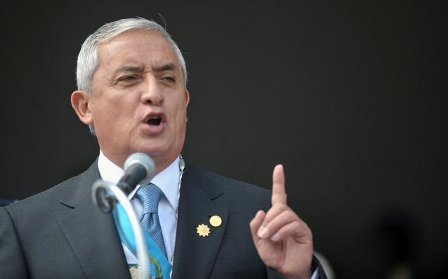 Presidente da Guatemala, Otto Perez Molina, declara  que Jesus Cristo é Senhor do país