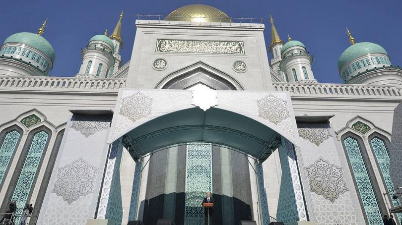 Vladimir Putin elogia o Islã ao inaugurar umas das maiores  Mesquita da Europa
