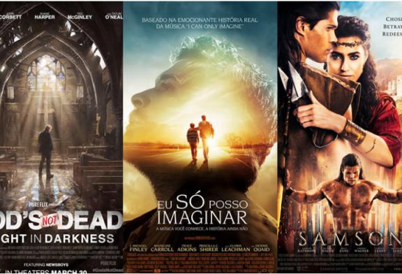 Confira lista de filmes cristãos que serão lançados no Brasil em 2018