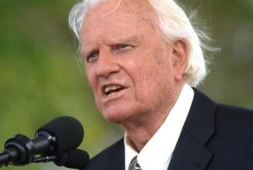 Morre o evangelista Billy Graham, aos 99 anos