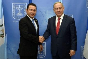 Seguindo passos de Trump, Guatemala irá mover embaixada para Jerusalém em maio