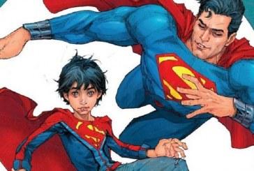 Quadrinhos mostram Superman ensinando valores cristãos ao filho