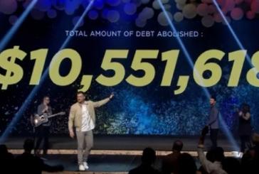Igreja doa mais de US$ 10 milhões para pagar despesas médicas de famílias