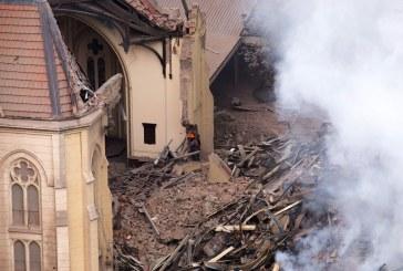 Fiéis vão se reunir a céu aberto após igreja ser destruída por desabamento de prédio em SP