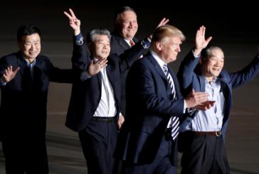 Coreia do Norte liberta três missionários dos Estados Unidos