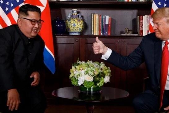 """""""Qualquer um pode fazer guerra, mas só corajosos fazem paz"""", diz Trump a Kim Jong-un"""