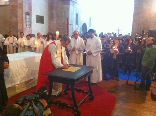 O bispo da Igreja Lusitana (Anglicana), Jorge Pina Cabral